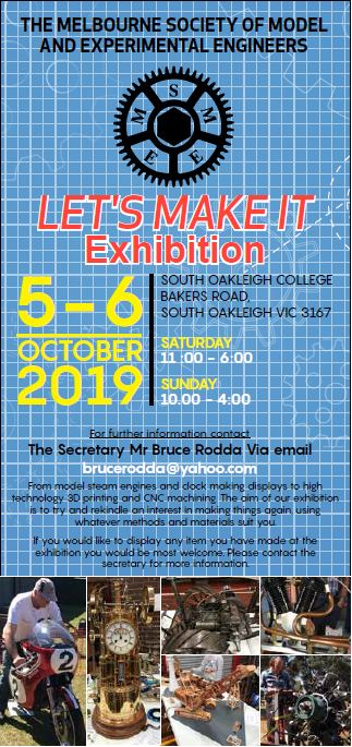 Exhibition 2019 Flyer